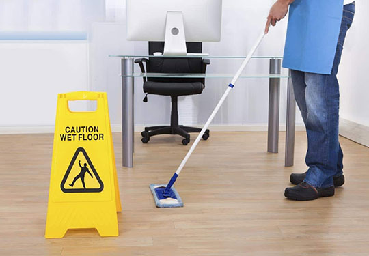 commercial cleaning service in Ascot