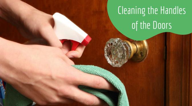Clean Handles of the Doors