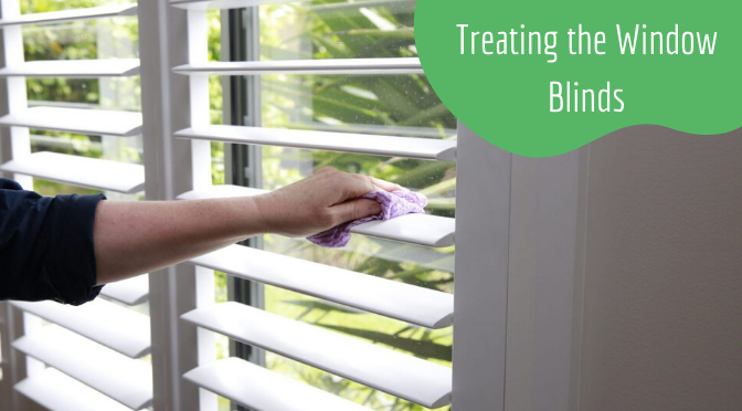 Treating the Window Blinds